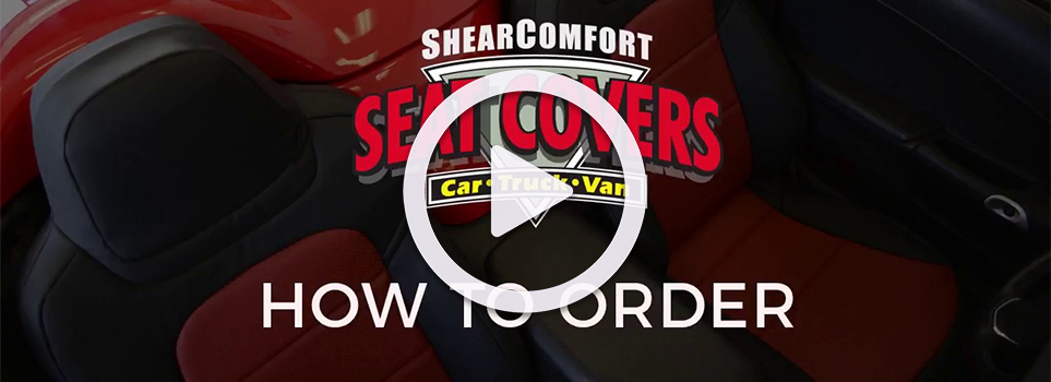How to order seat covers from ShearComfort video link