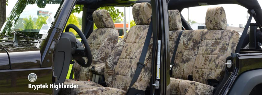 Kryptek Seat Covers