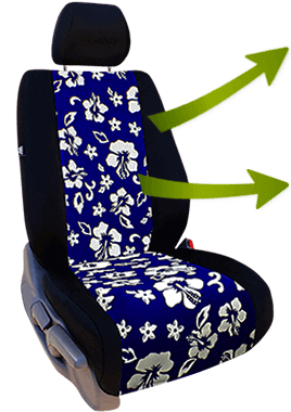 Hawaiian Car Seat Covers >> Hawaiian Seat Covers | Floral Seat Covers for a Tropical Look | SALE
