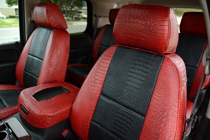Leatherette Seat Covers Looks Feels Like Real Leather Sale On