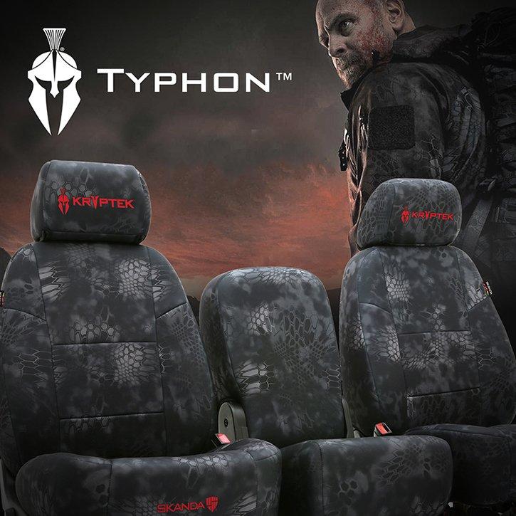 Kryptek Camo Seat Covers Custom Made Highlander Typhon Raid