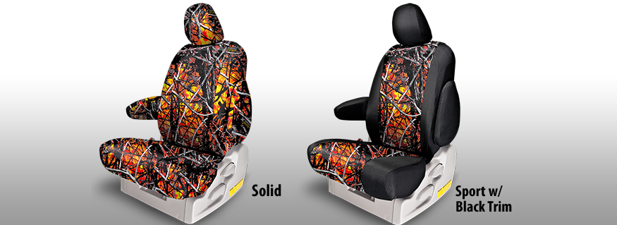 Wildfire Camo 174 Seat Covers Moonshine Camouflage